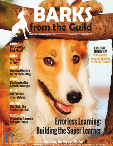 ecba67c3998 BARKS from the Guild November 2015 by The Pet Professional Guild - issuu