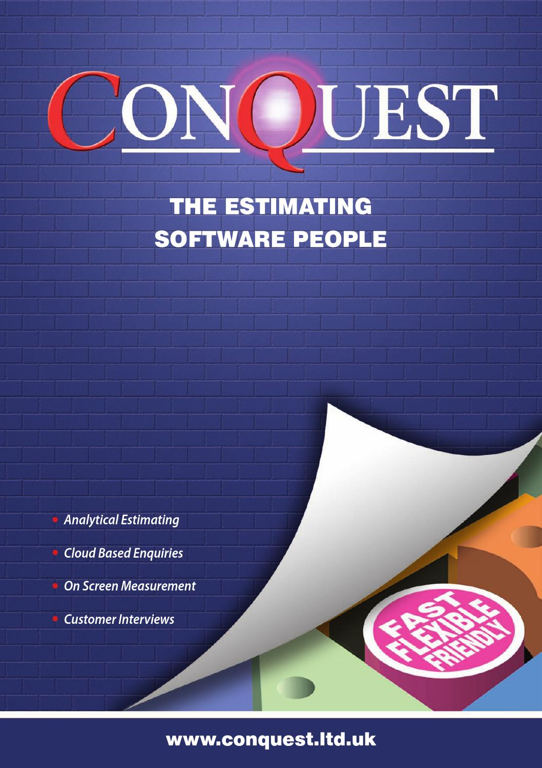 Conquest Oct 2015 by UK Construction