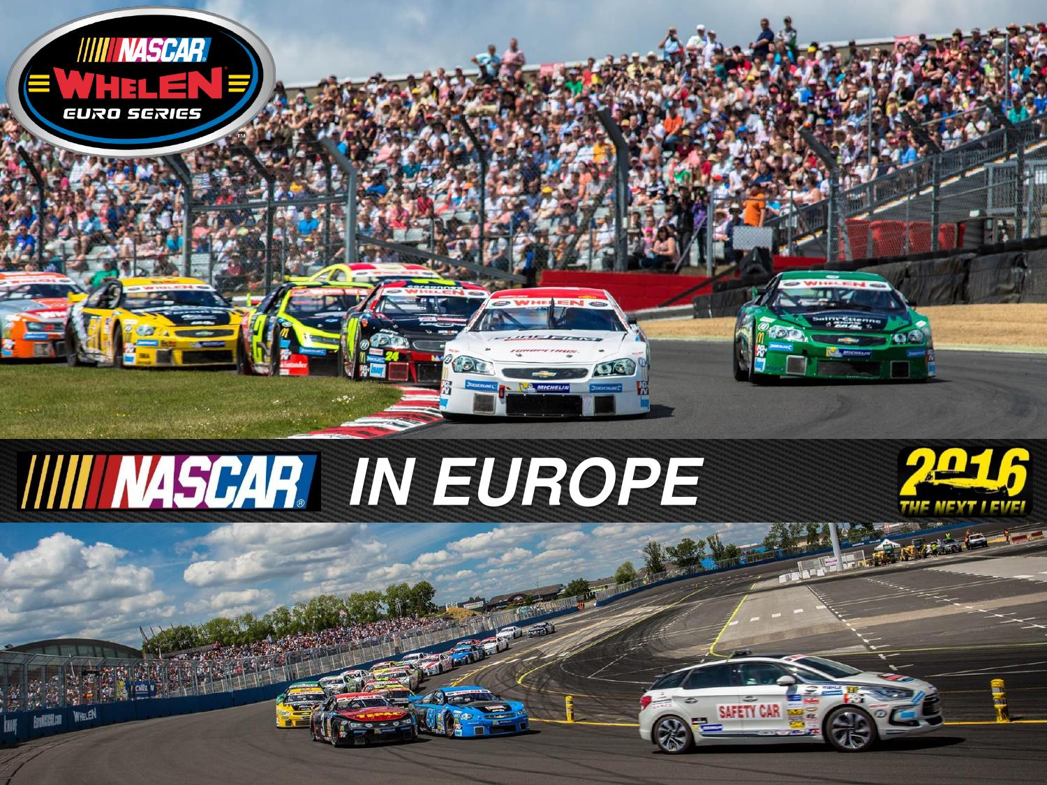 Nwes Digital Deck 2016 Eng By Nascar Whelen Euro Series