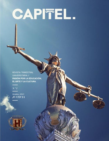 Capitel Justicia By Universidad Humanitas Issuu