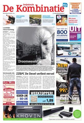 De Kombinatie Ed Zwijndrecht Week44 By Wegener Issuu