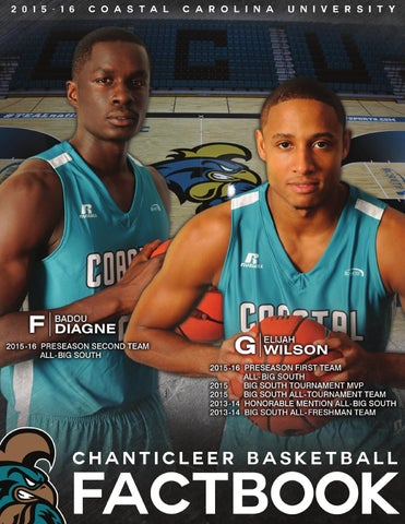 86823fc0f 2015-16 Coastal Carolina Men s Basketball Fact Book by Kevin Davis ...