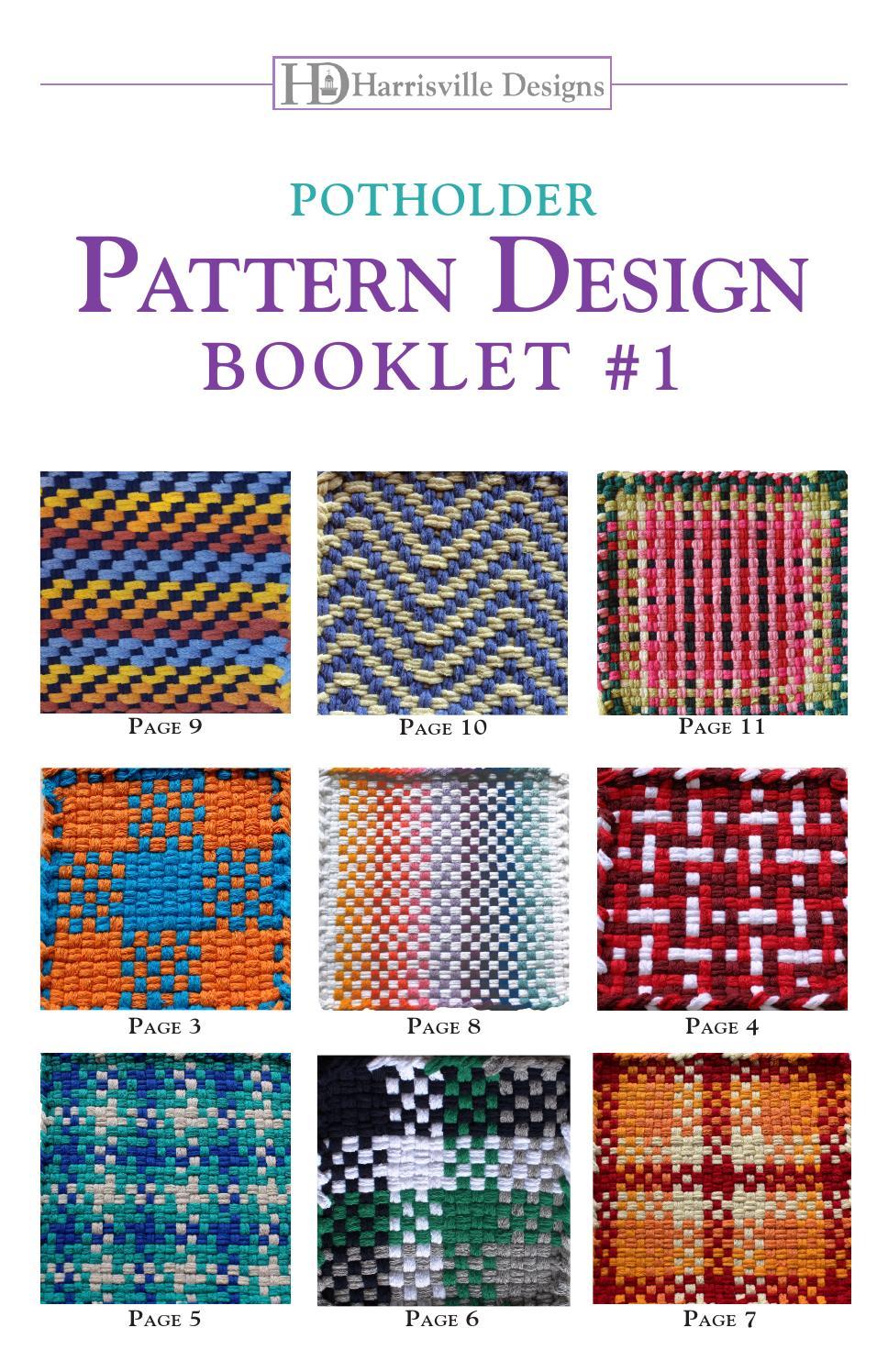 Potholder Pattern Booklet 1 By Harrisville Designs Issuu