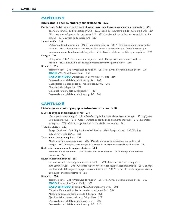 Liderazgo. Teoría, Aplicación y Desarrollo de Habilidades 6a. Ed ...
