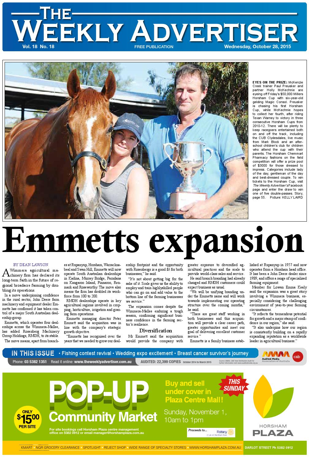 The Weekly Advertiser Wednesday October 28 2015 By Gibson Ripper Wiring Harness Issuu