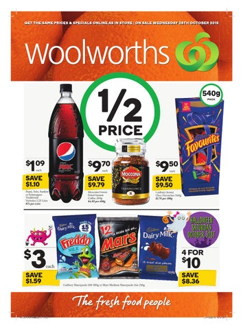 Qld woolworths 281015 031115 by hojunara issuu get the same prices specials online as in store on sale wednesday 28th october 2015 negle Image collections