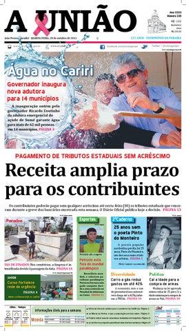 3b4c5050d2 Jornal A União - 28 10 2015 by Jornal A União - issuu