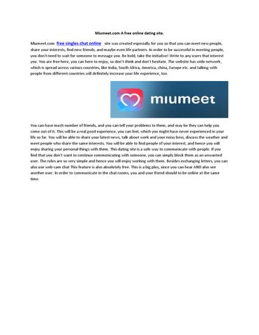 Miumeet Online Dating