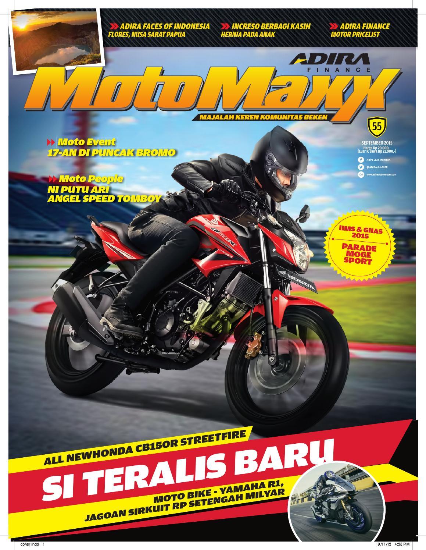 Motomaxx 09 2015 By Adira Member Issuu All New Cbr 150r Racing Red Grobogan