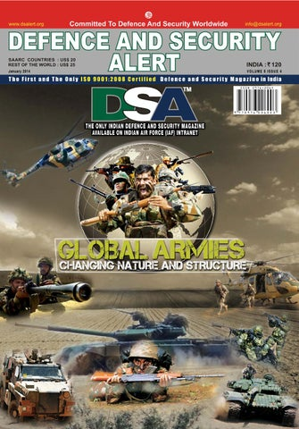 Dsa January 2014 By Defence And Security Alert Issuu