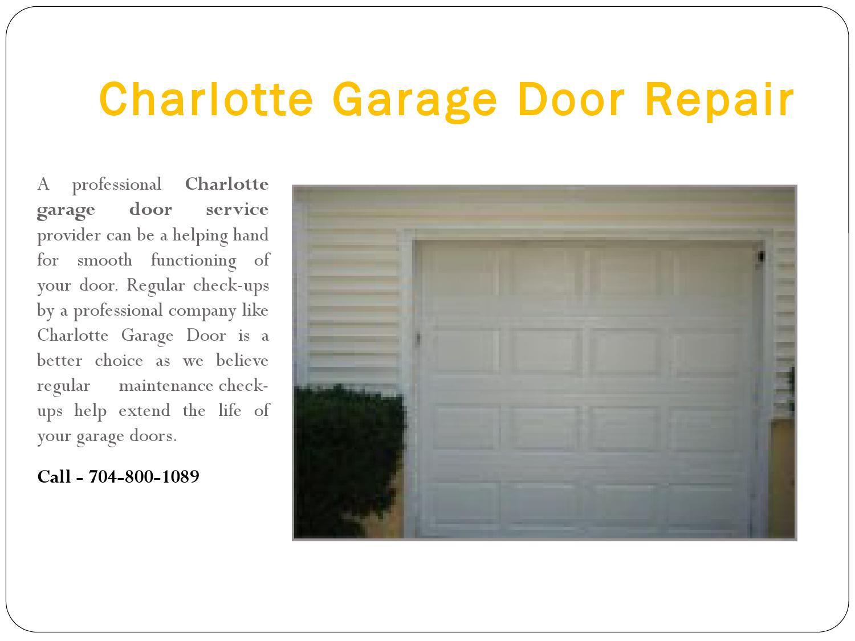 Charlotte garage door repair by charlotte garage door issuu for A 1 garage door service