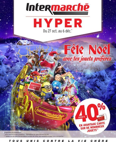 Catalogue De Jouets Noel 2015 Intermarche By Yvernault Issuu