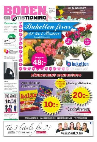 fc124ea46deb Boden Gratistidning & TopStore by Svenska Civildatalogerna AB - issuu