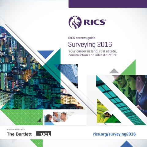 Surveying 2016 — careers guide by RICS - issuu