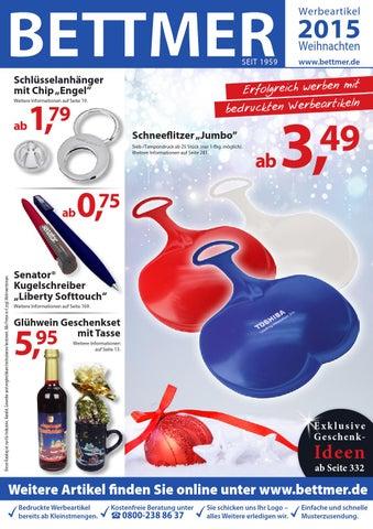 975f66dd438b1 Bettmer Werbeartikel Katalog Weihnachten 2015 by Bettmer GmbH - issuu