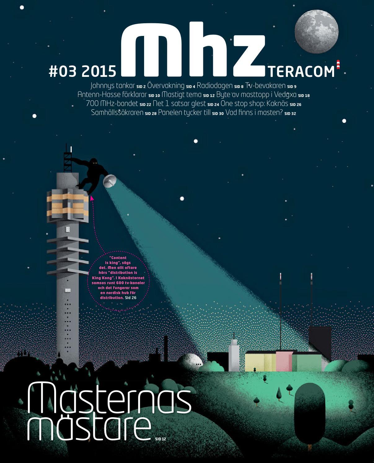 Mhz #3 2015 by Teracom - issuu : ställa in tv antenn : Inredning