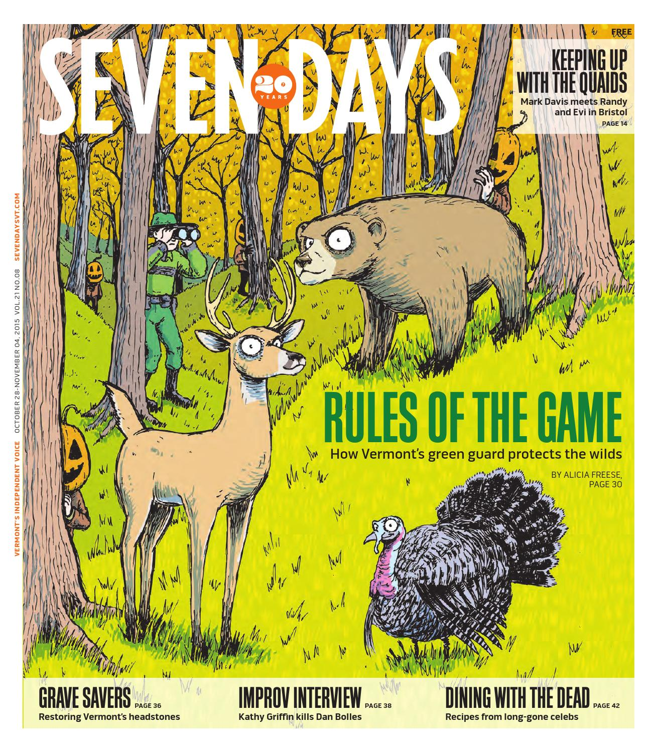 Seven Days October 28 2015 By Seven Days Issuu