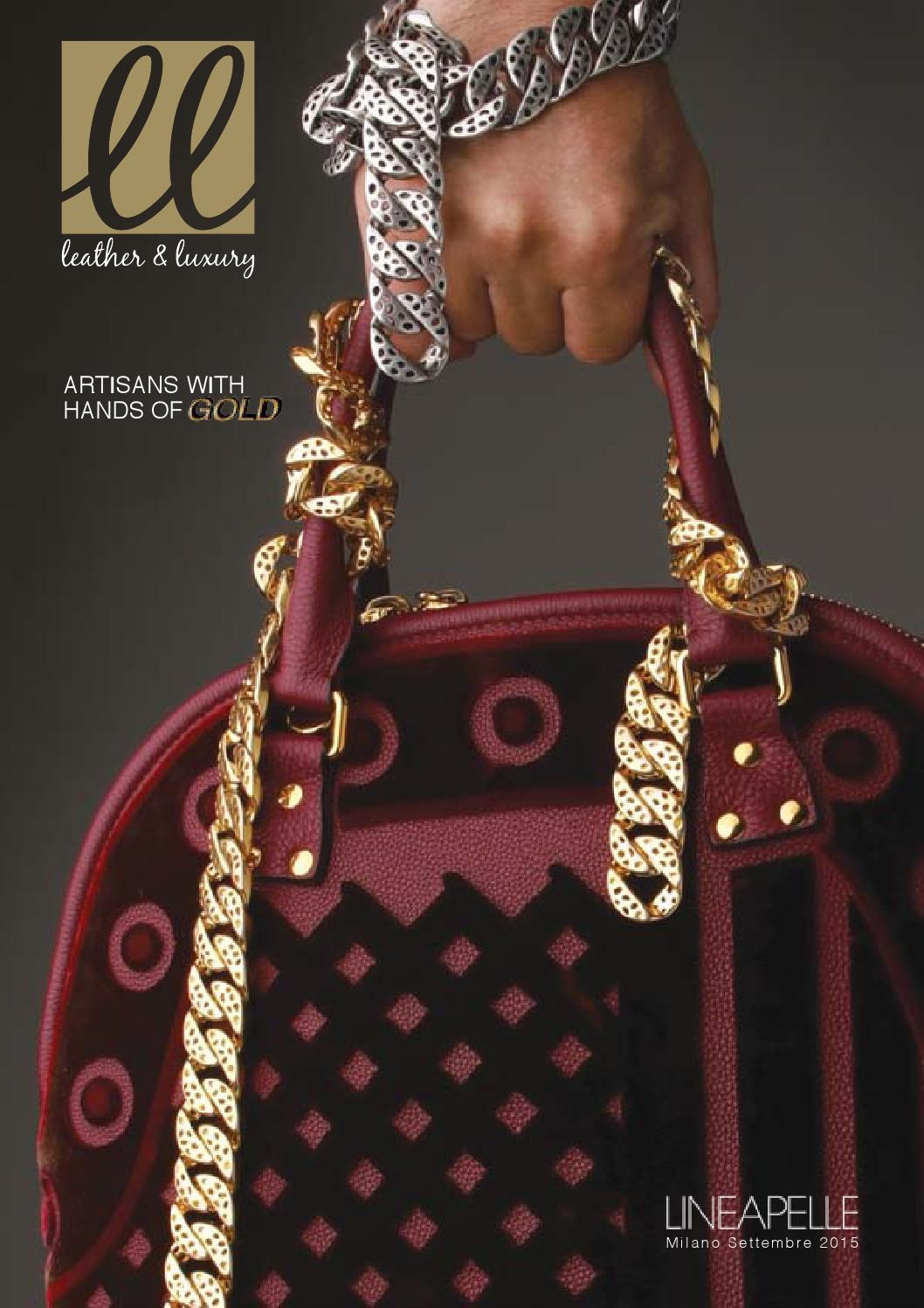 dc522f428f Leather & Luxury by MGA Comunicazione - issuu