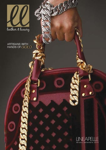 Leather   Luxury by MGA Comunicazione - issuu da28c802151c
