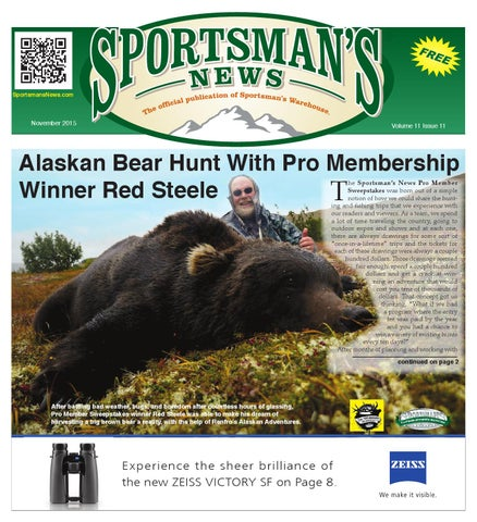 Midvale Heights Bison Celebrate >> Sportsman S News November 2015 Digital Edition By Sportsman S News