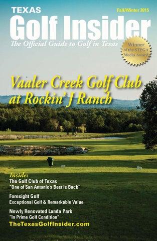 Texas Golf Insider: Central TX V.1 by Digital Publisher - issuu on