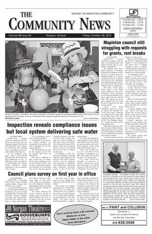 Drayton Community News October 30 2015 By Wha Publications Ltd Issuu