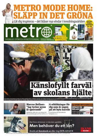 buy popular 64fb8 15a80 20151029 se stockholm by Metro Sweden - issuu