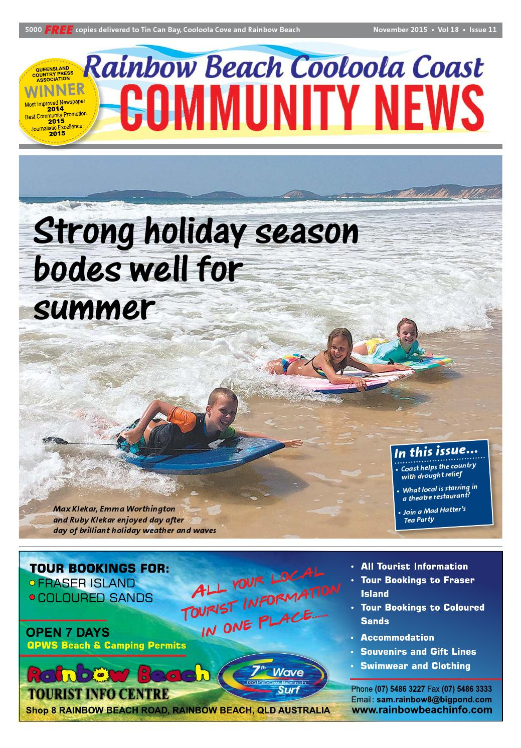 Rainbow Beach Community News November 2015