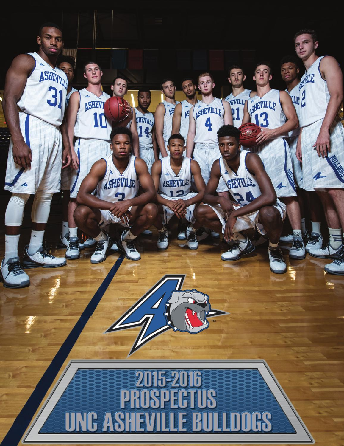 2015-2016 unc asheville men's basketball prospectus by unc asheville