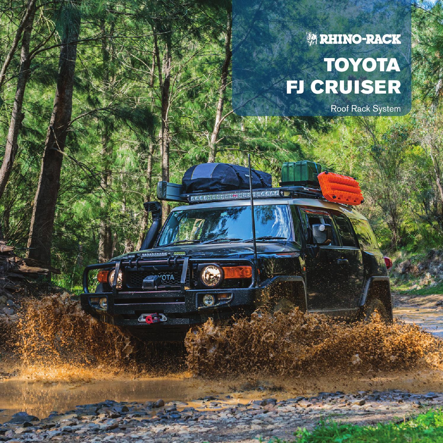 Rhino Rack Toyota Fj Cruiser Brochure 2015 By Rhino Rack