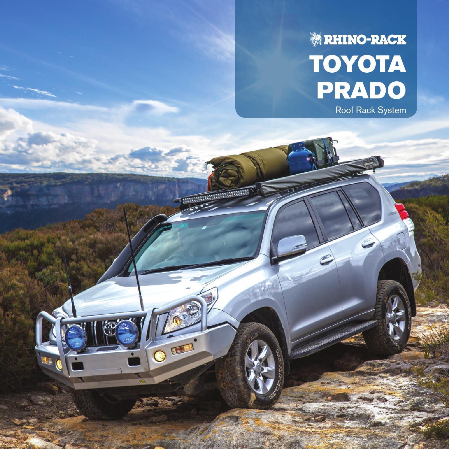 Rhino Rack Toyota Prado Brochure 2015 By Rhino Rack Issuu