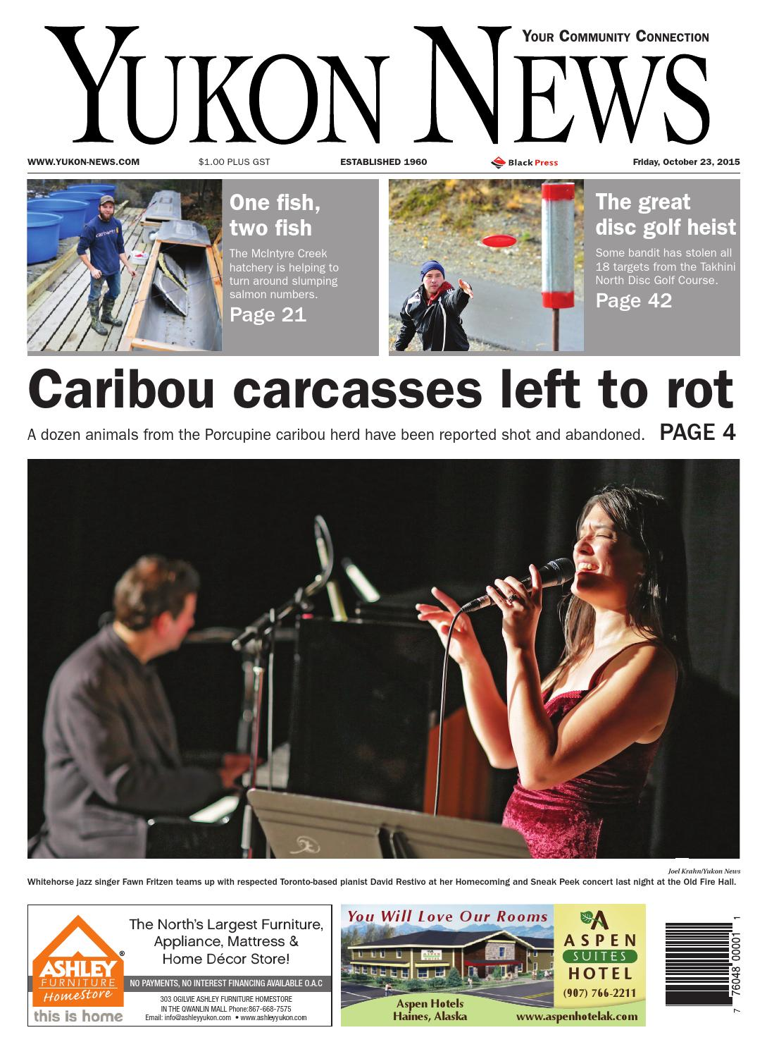 Yukon News October 23 2015 by