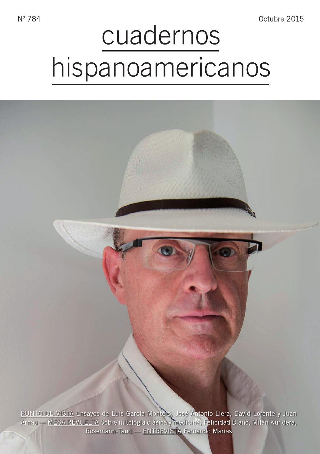 Cuadernos Hispanoamericanos 784 (Octubre 2015) by AECID PUBLICACIONES -  issuu e70d05eff6d