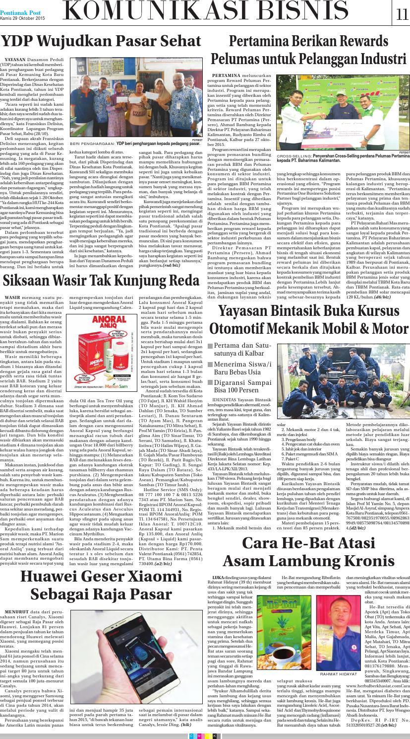 Pontianak Post By Issuu Anoral Anliq Mengobati Wasir Parah