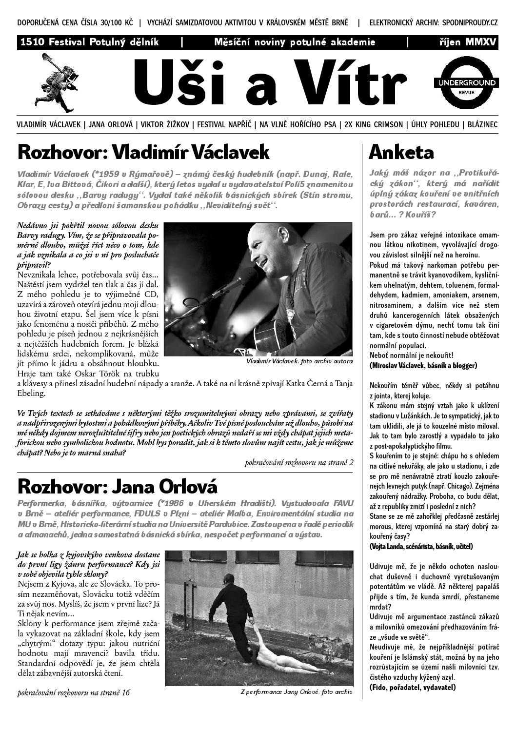 Uši a Vítr 1510 by Igor Latal Ears Wind Records spodniproudy.cz - issuu b16a22898c5
