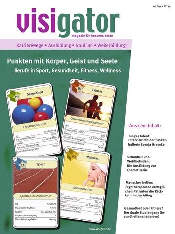 visigator - Punkten mit Körper, Geist und Seele / Berufe in Sport ...