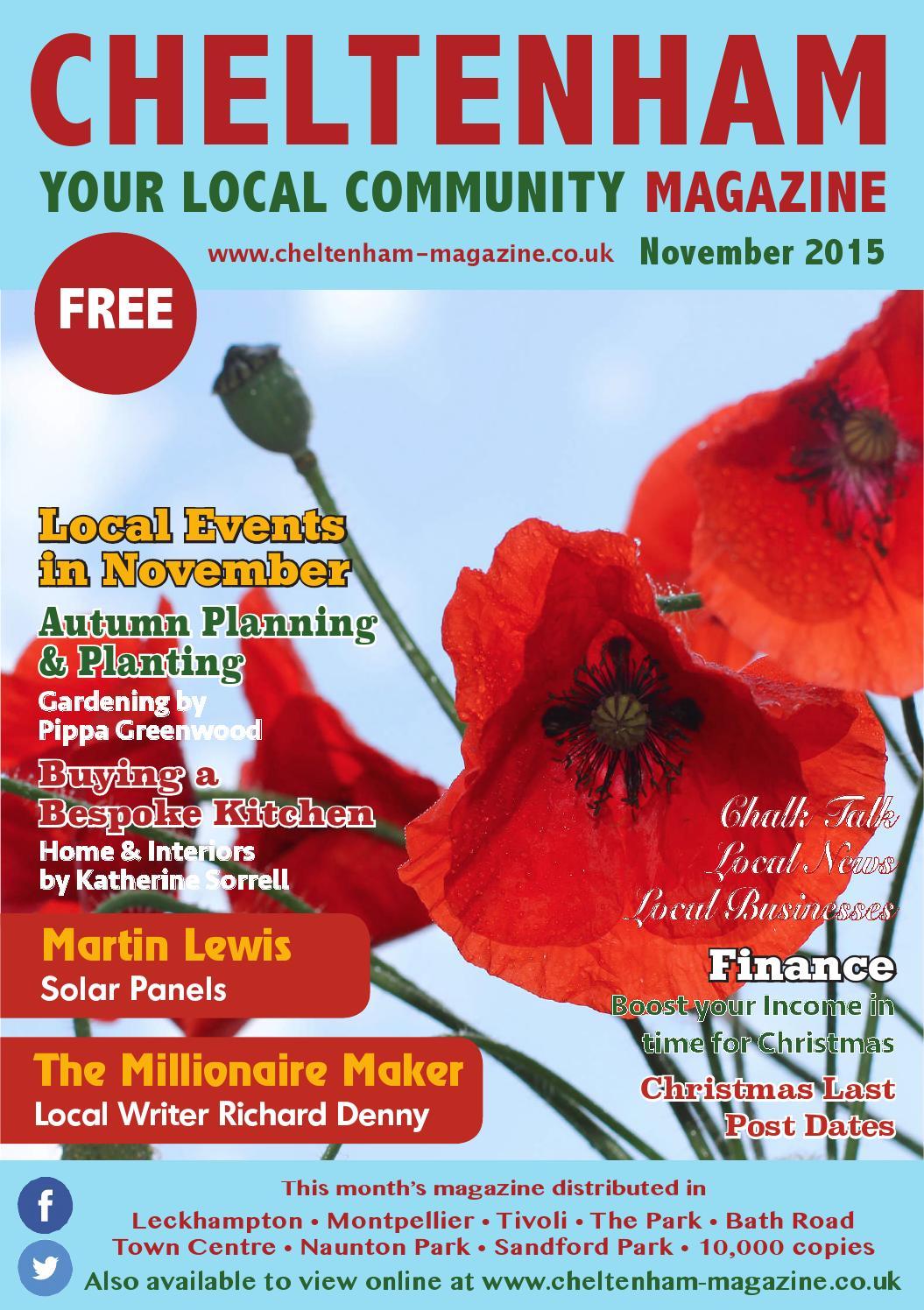 Cheltenham Nov15 By Love Local Magazines Formerly Glos