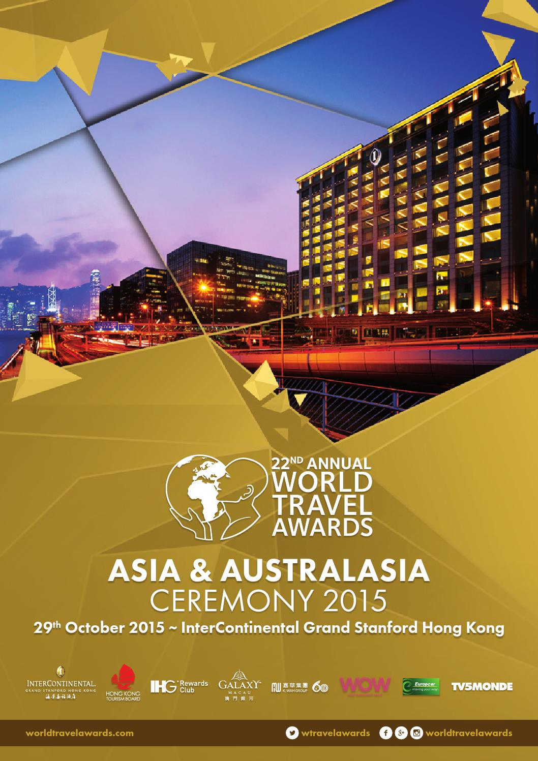 Personalised service at the villa club of kempinski hotel haitang bay - World Travel Awards Asia Australasia Gala Ceremony 2015 By World Travel Awards Issuu