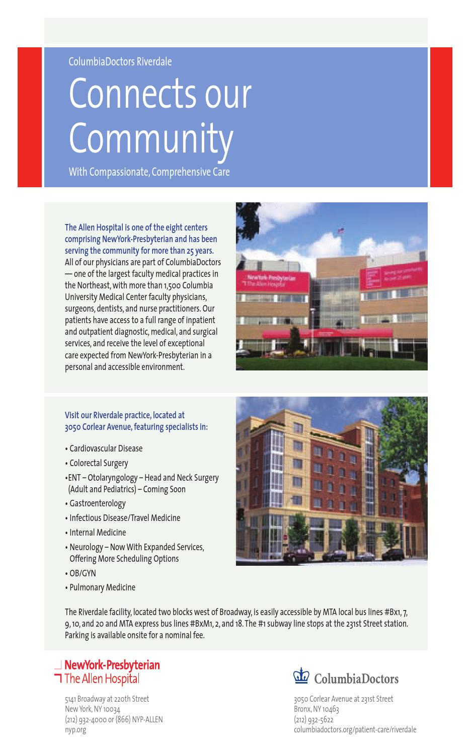 Living In Riverdale 2015 by Riverdale Press - issuu