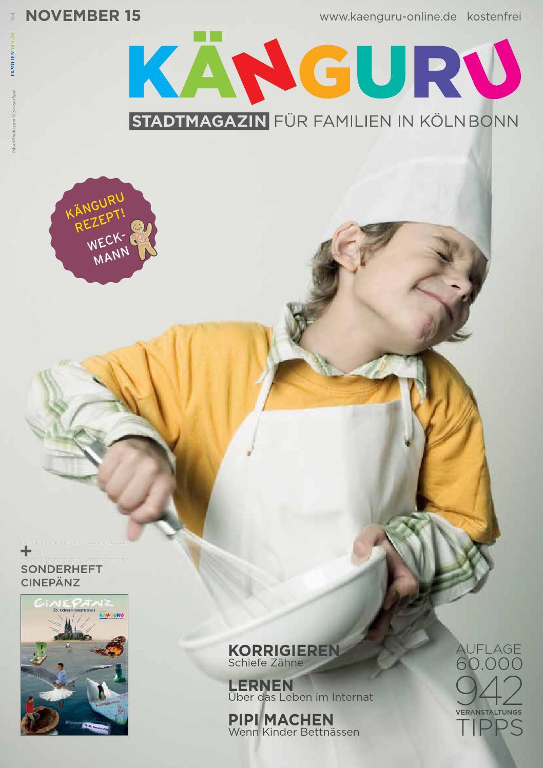 KÄNGURU Stadtmagazin für Familien in Köln Bonn November 2015 by ...
