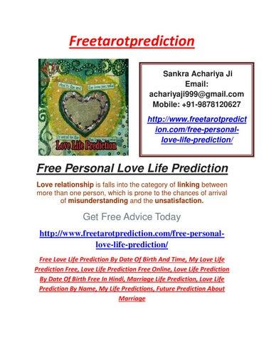 Predict my future free online date birth in Melbourne