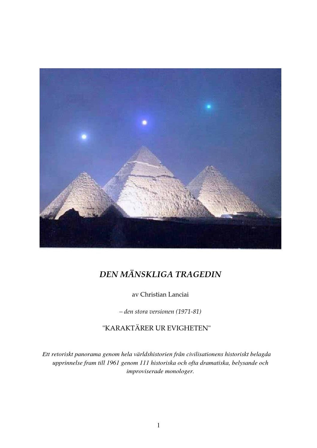 Den mänskliga tragedin (stora versionen) by Christian Lanciai - issuu 7539d9023b448