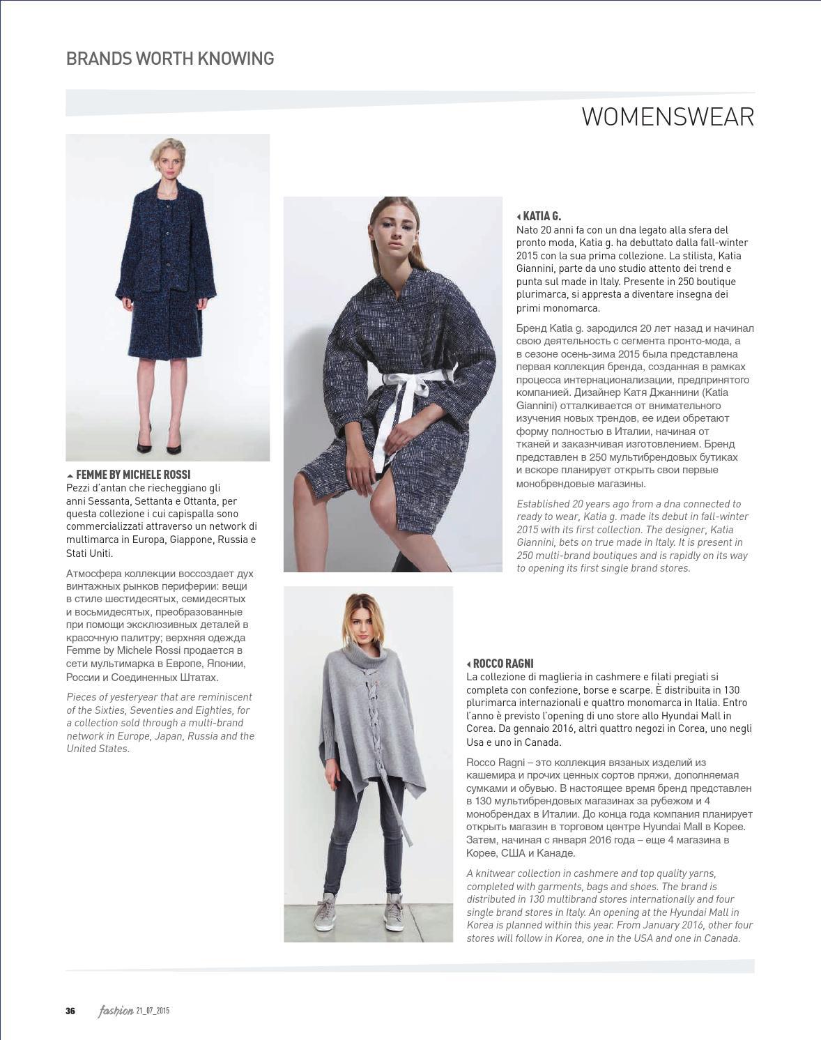a6e28624233 Fashion 12 2015 by Fashionmagazine - issuu