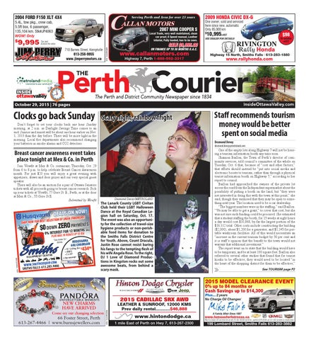 35f779cfc Perth102915 by Metroland East - The Perth Courier - issuu
