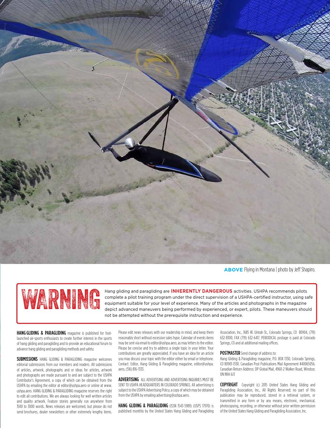 Hang Gliding & Paragliding Vol45/Iss11 Nov2015