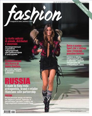 13a13905ee06 Anno 46   N°4 del 09.02.2015   quindicinale   € 5,50    www.fashionmagazine.it