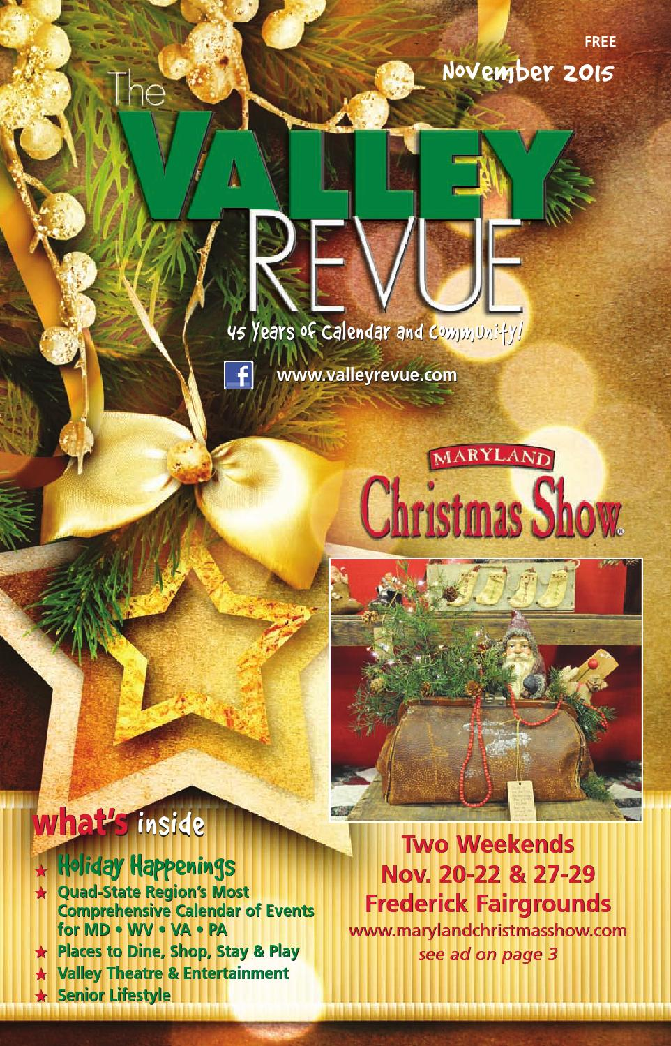 November 2015 valley revue by the valley revue issuu for Craft store frederick md