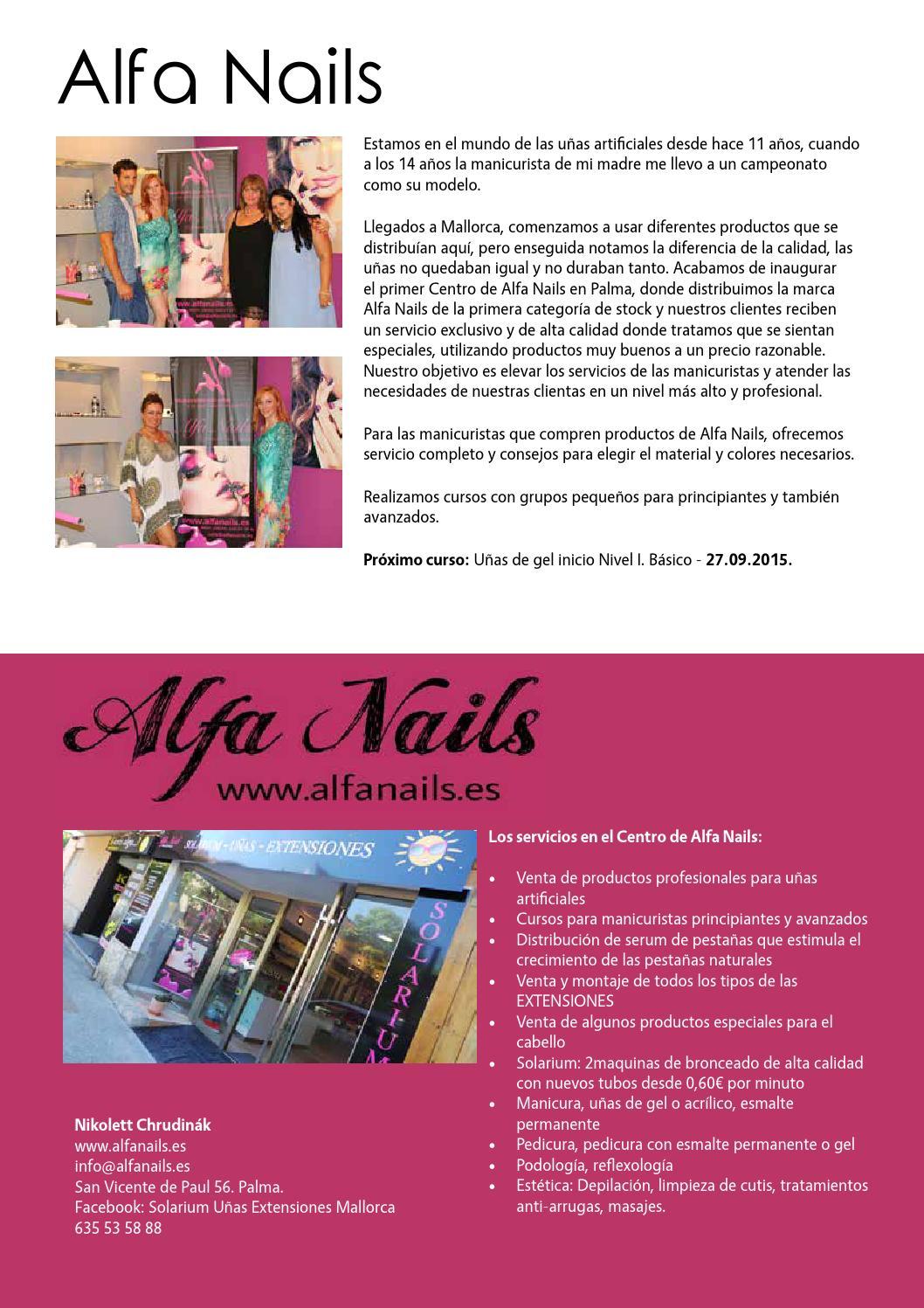 Revista Belleza Salud Y Bienestar Nr1 By Mallorcamente Issuu