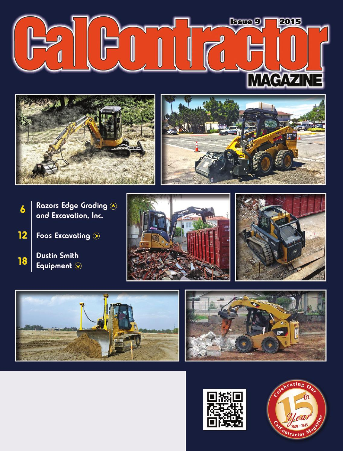 Calcontractor Owner Operator Issue 2015 By Cms Issuu John Deere 310d Electrical Problems Please Help