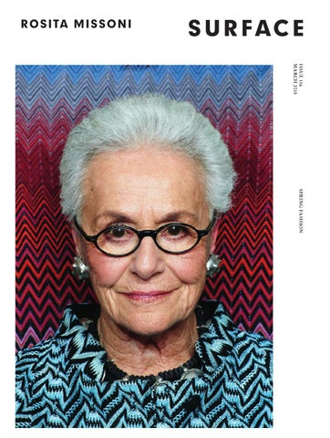 0d42699aa9 SURFACE - ROSITA MISSONI - MARCH 2015 by Surfacemag - issuu